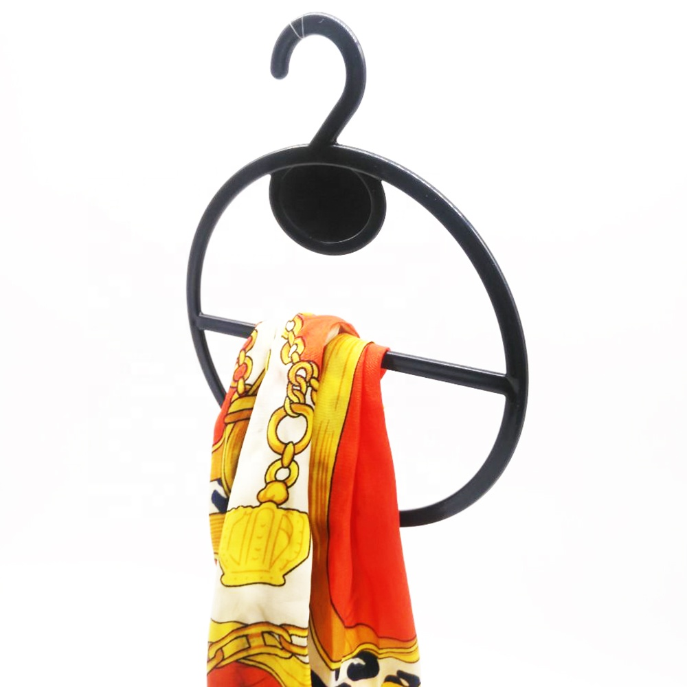 Plastic Hook Organizer Hanger for Belt Tie Scarf Holder Rack Storage Hanger Display Scarf Hanger for Shopping Mall