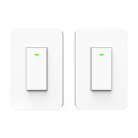 IOT App remote control kinetic switches 3 way wall switch smart home