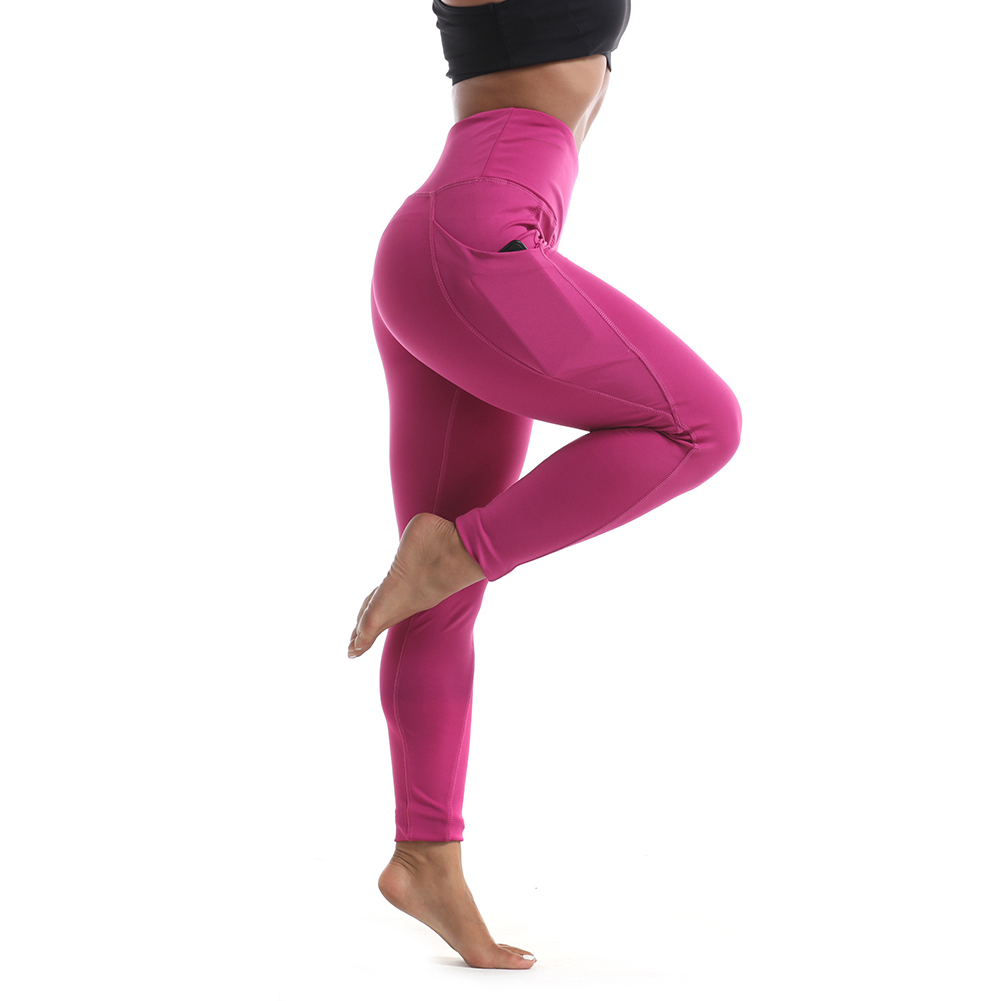 High Quality Warm Fitness Leggings Stretchy Training Sportswear Yoga Pants With Pockets OEM Manufacturer