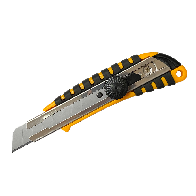 Snap off  blade 2019 hot sale utility cutter knife ABS utility knife cutter