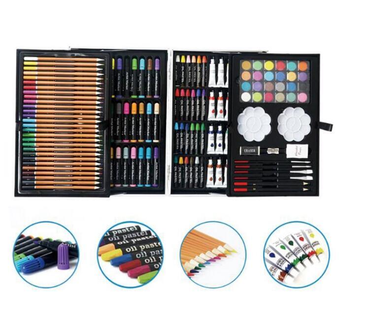 200 штук Искусство Набор для рисования с сделать отличный подарок для детей и взрослых