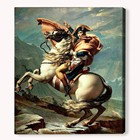 Dafen Handmade World Famous Painting Napoleon Crossing The Alps Home Decoration Wall Art Oil Pain
