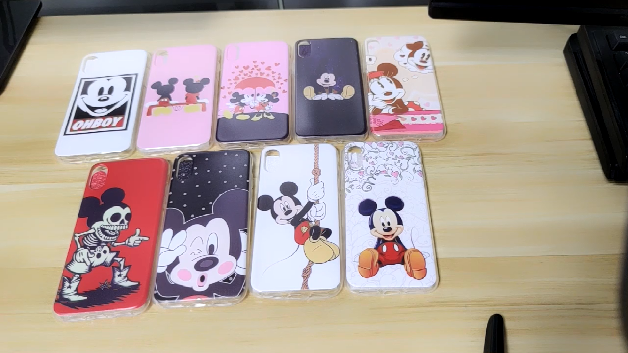 Produtos personalizados Caso Do Smartphone Para o iphone X 8 8 Plus, para o iphone 11 TPU Costume Impresso Claro Caso de Telefone de Silicone