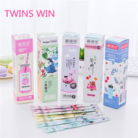 Best sale in Europe 2020 new school and office use cute stationery for girl cartoon funny mini scented ink gel pen set 018