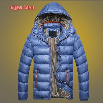 Wholesale lightweight winter waterproof down jacket for men