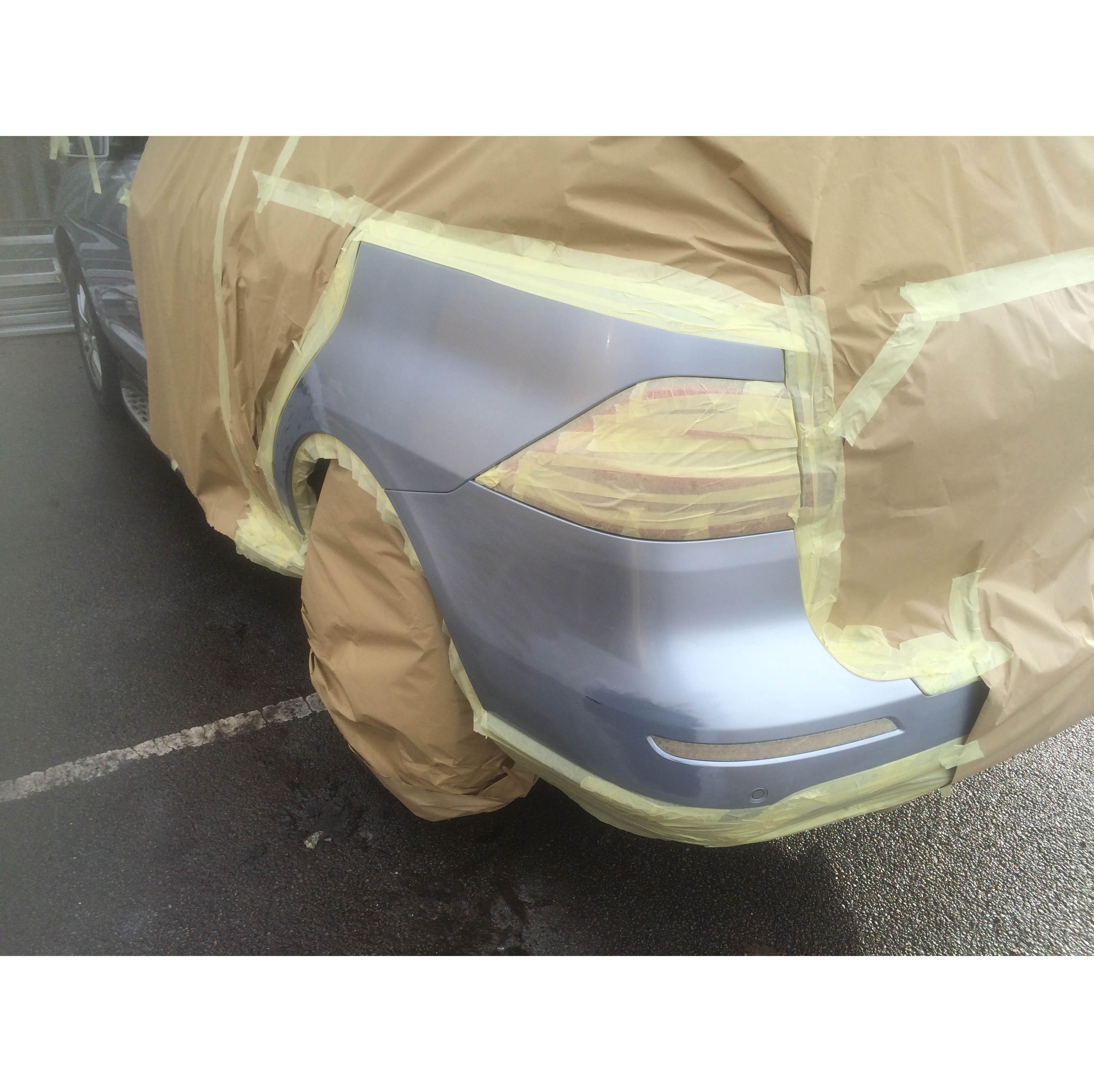 Высокая температура сопротивление автомобильный малярный скотч маскирующая бумажная покраски автомобилей