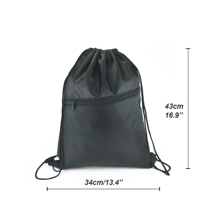 Wholesale Recyclable  Backpack Style Drawstring Backpack Bag Factory, Customizable Print Canvas Cotton Bags