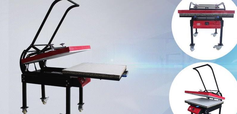 "Auplex Colorking doubled working tables Penumatic Large Format Sublimation Heat Press 31""*39"""