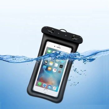 Universal Waterproof Case double airbags waterproof pouch bag airbag Cell Phone Water proof dry bag for smart phone
