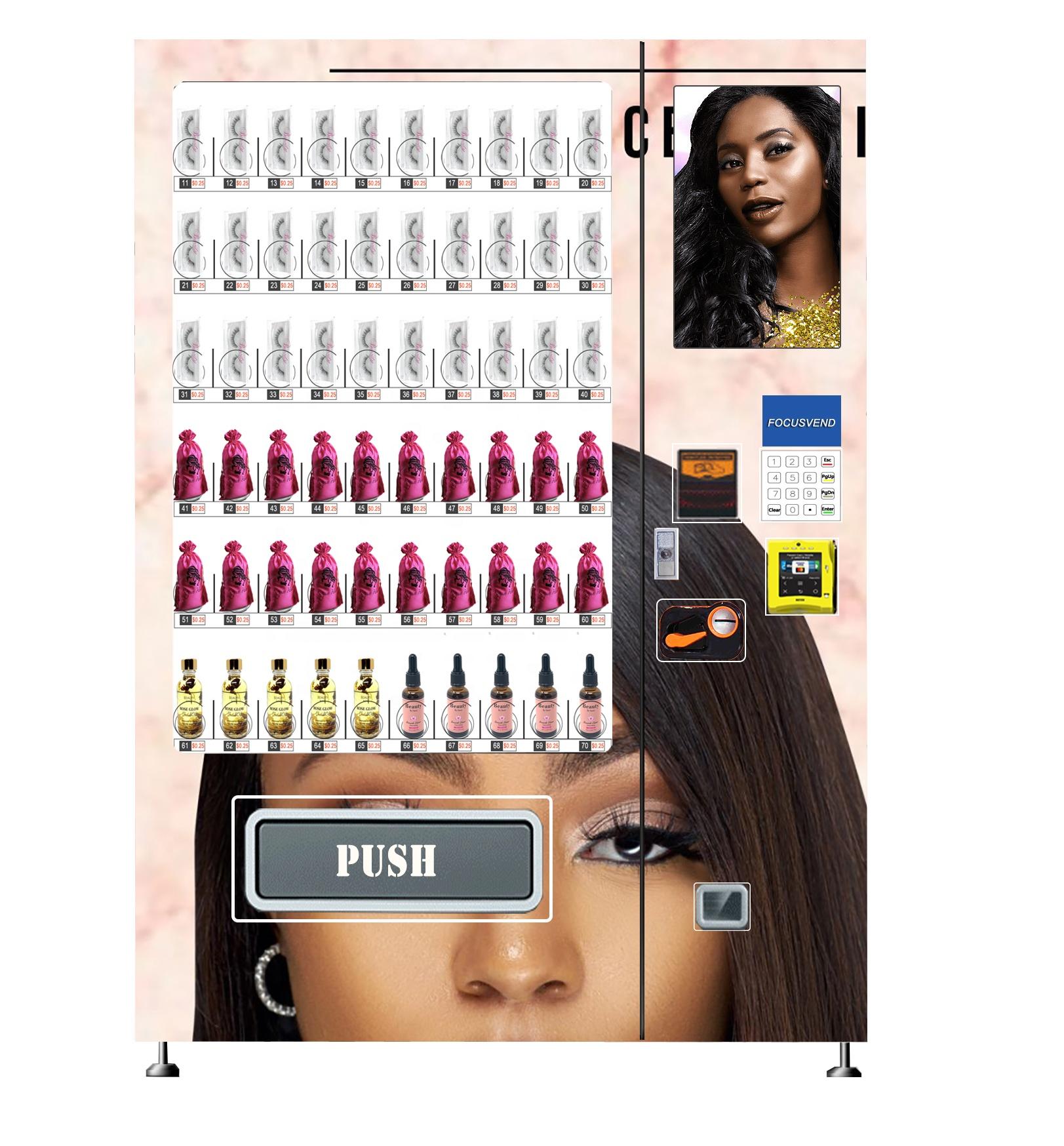 Best seller lash vending machine with free customized desgin wrap