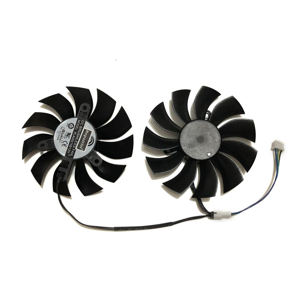 65mm Diameter VGA GPU Graphics Card Fan Blower For EVGA GTX470 GTX480 Reference Design VGA Video Card Cooling As Replacement