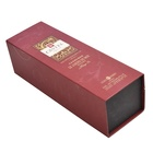 Latest hot sale cardboard luxury wine packaging gift box Ctlmp wine packaging box with magnet CTFPB40002