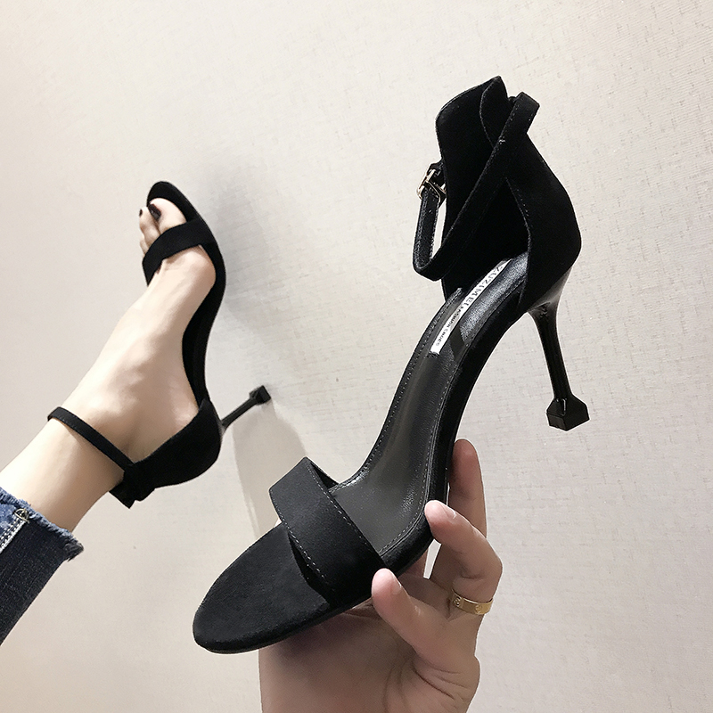 latest ladies sandals designs 2019 women shoes  high heels sandal sexy summer dress shoes pump