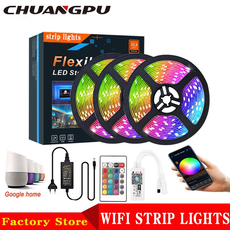 Best Price /Google Home/ Alexa Echo Wifi Smart 5050 led light strips  1 buyer