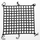 Cargo Net High Strength Polypropylene Top Quality Outdoor Cargo Net 4'X6' Black Truck Cargo Net Climbing