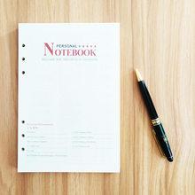 A5 A6 B5 блокнот и журналы дневник путешественник блокнот папка с калькулятором держатель для карт бизнес-блокнот планировщик Органайзер(Китай)