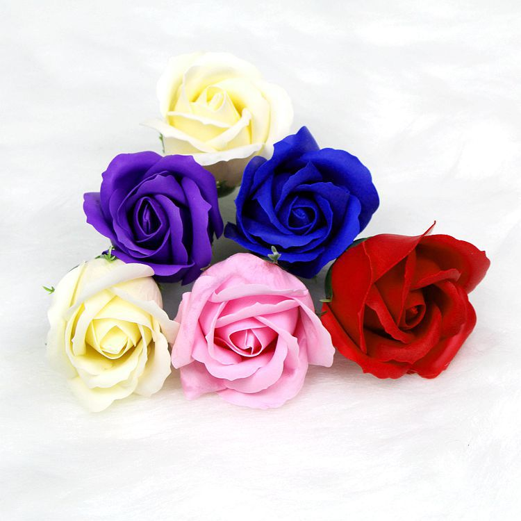 Wedding Party and Promotion Decoration 50pcs/box Artificial Flowers 3 Layer Rose Soap Flowers