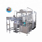 automatic premade stand up bag pouch filling capping and sealing packing machine /equipment/fille shanghai for liquid juice food