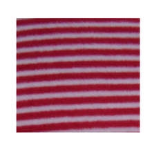 Rayé rouge et blanc <span class=keywords><strong>tissu</strong></span> <span class=keywords><strong>polaire</strong></span>