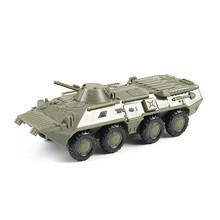 1:72 M35 грузовик советский BTR 80 колесные бронированные машины без резины модель сборки военный игрушечный автомобиль(Китай)