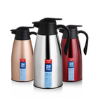 hot selling colorful stainless steel double wall vacuum thermo tea jug coffee kettle
