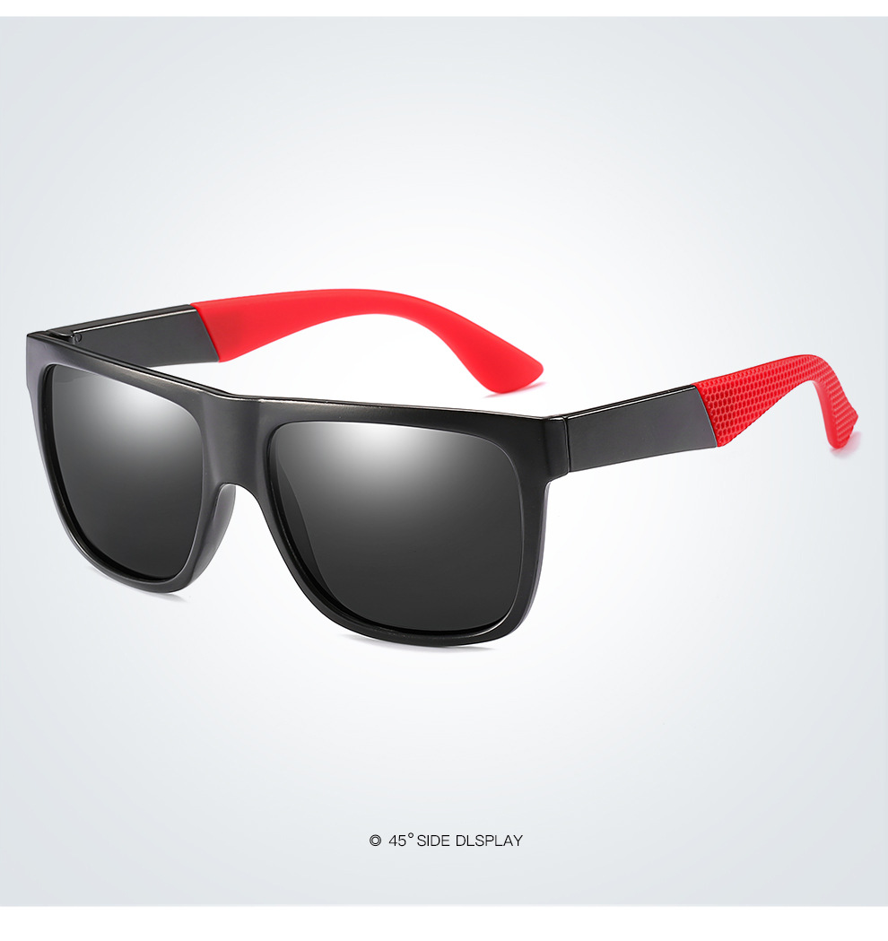 Fuqian men folding sunglasses fashion design for running-19