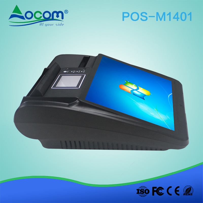 14.1 Retail All In One Desktop Android Pos Machine Met Printer