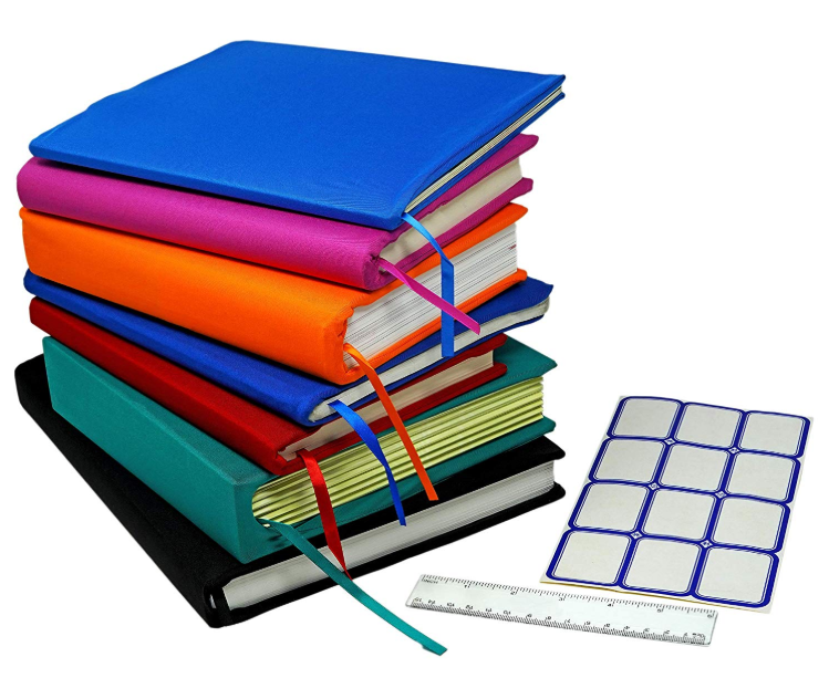 Customized Pattern Promotional Washable Reusable Hardcover Textbooks Stretchable Book Cover