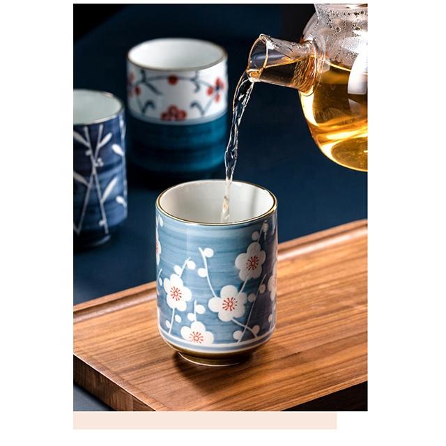 Hand-painted Japanese ceramic Kung Fu tea Japanese Porcelain Cups
