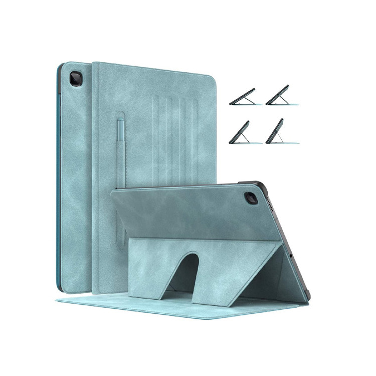 MoKo Multi-Angle PU Slim Case with pen holder for Galaxy Tab S6 Lite 10.4 Inch SM-P610/615
