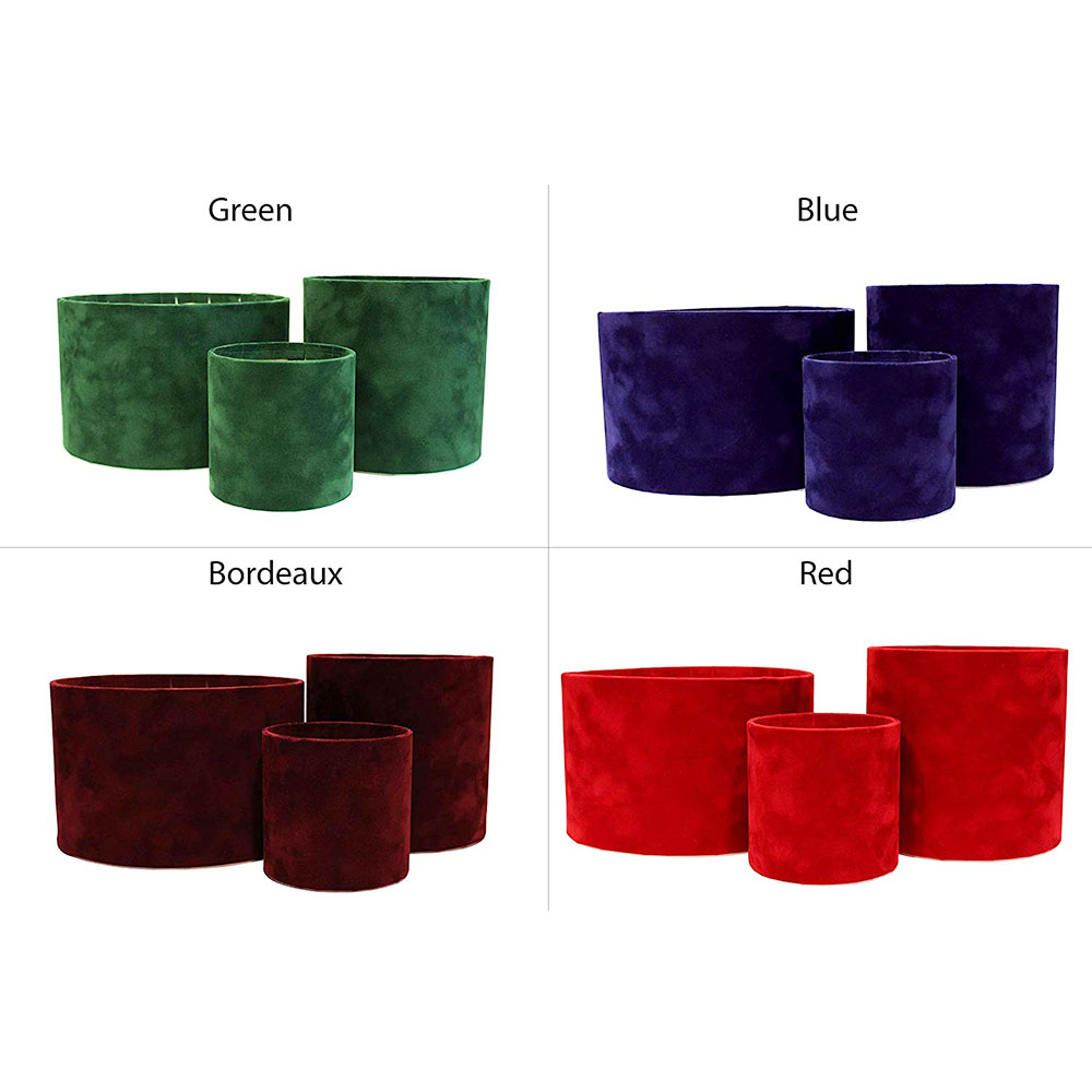 wholesale fabric flower suede hat box