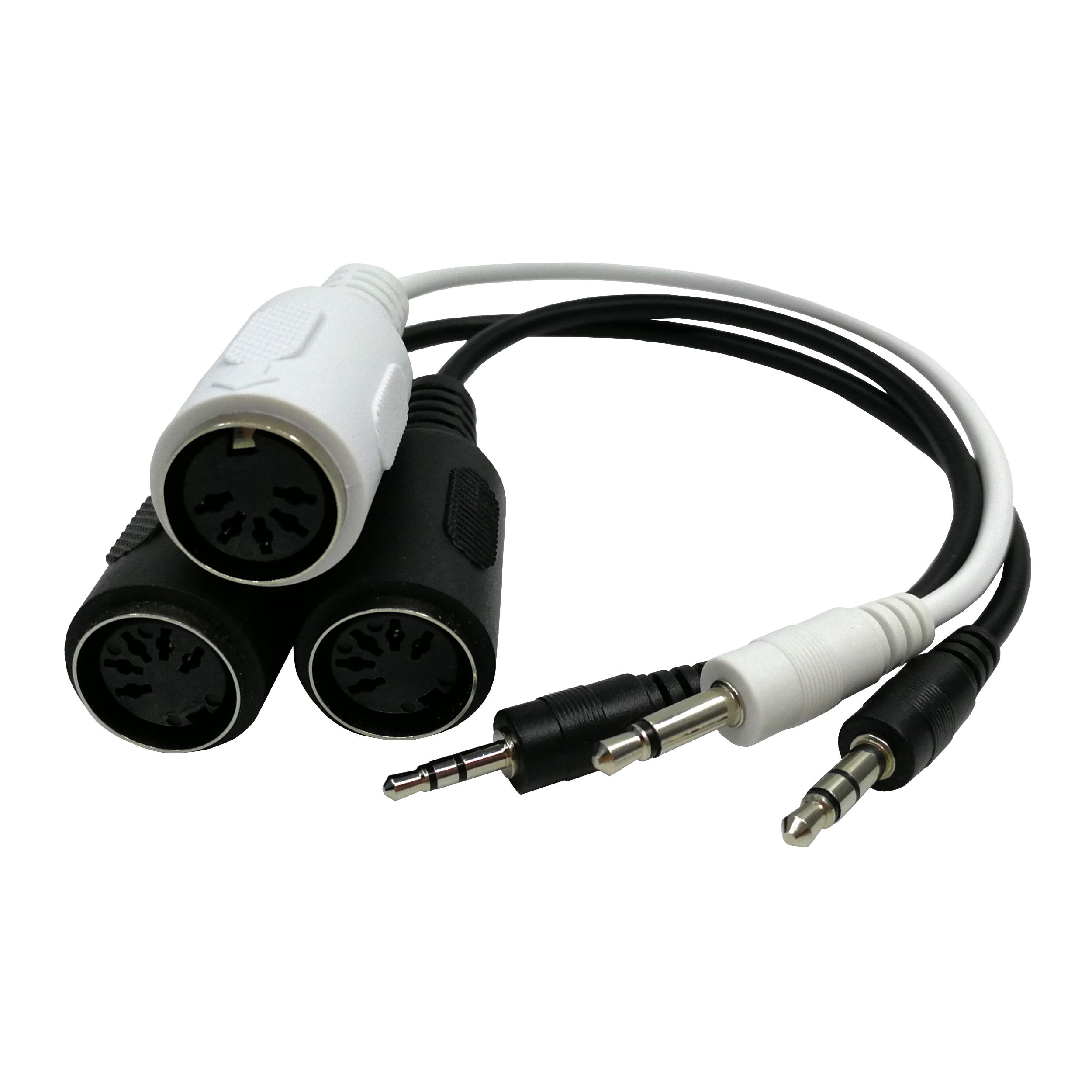 Midi Adaptor untuk 3.5 Mm Jack Stereo Kabel