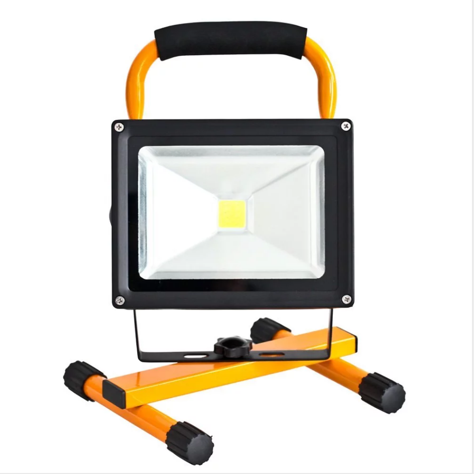 Rechargeable 2000mHa Battery Powered 10W Waterproof LED <strong>Flood</strong> Spotlights for Outdoor Camping Emergency