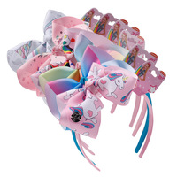 2019 explosion models with card head buckle headband children's unicorn hair accessories tiara party supplies