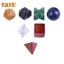<span class=keywords><strong>Groothandel</strong></span> Gemengde 7 Crystal Charms <span class=keywords><strong>Reiki</strong></span> Healing Chakra set voor Home Decor