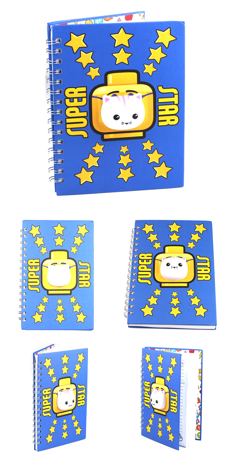 Custom 3D Cartoon PU Soft Stress Reduce Slow Rising Squishy cat Sticker for Notebook Mobile Phones