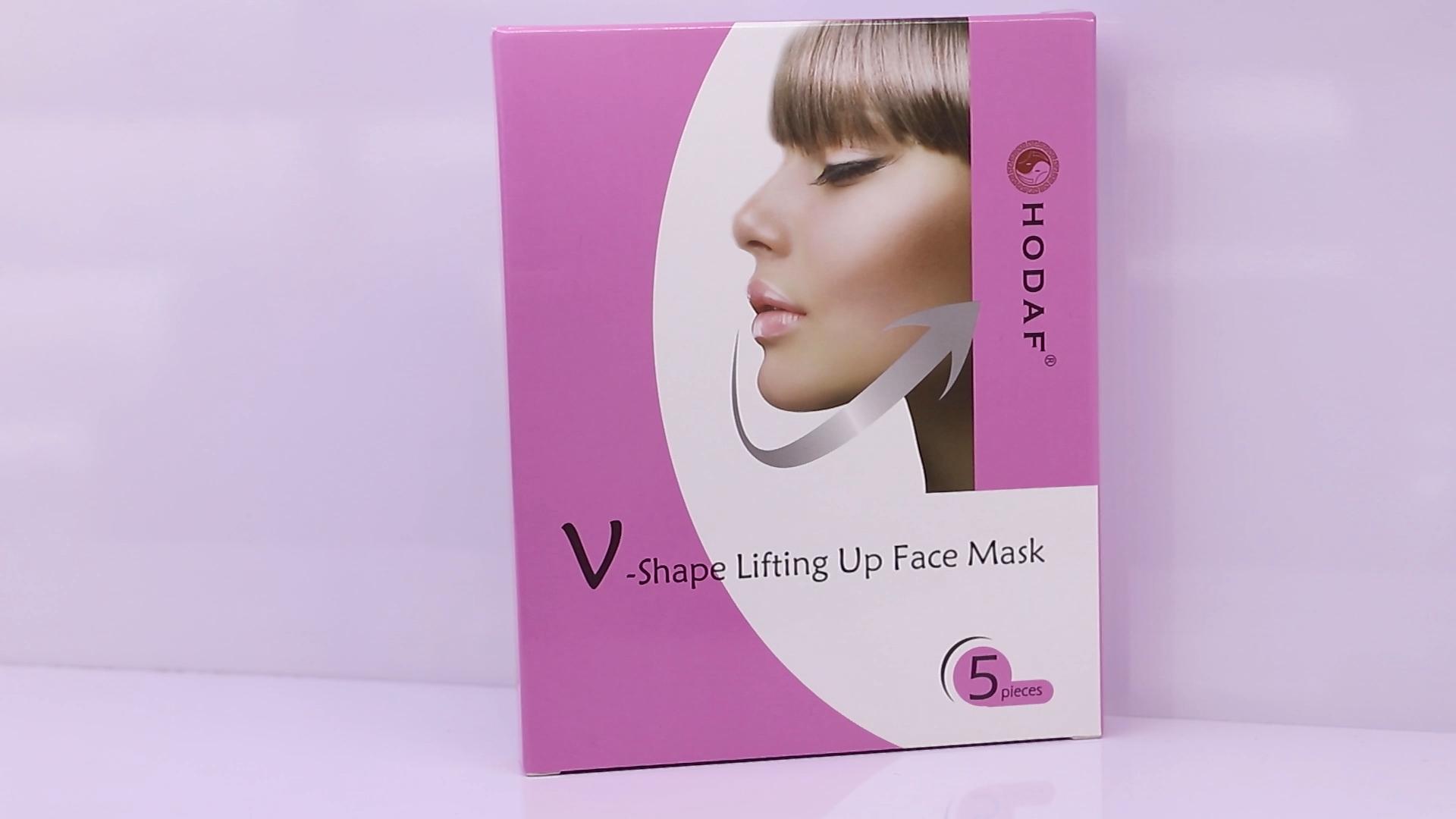 V Up Contour Tightening Firming Moisturizing Chin Neck V Shape Mask