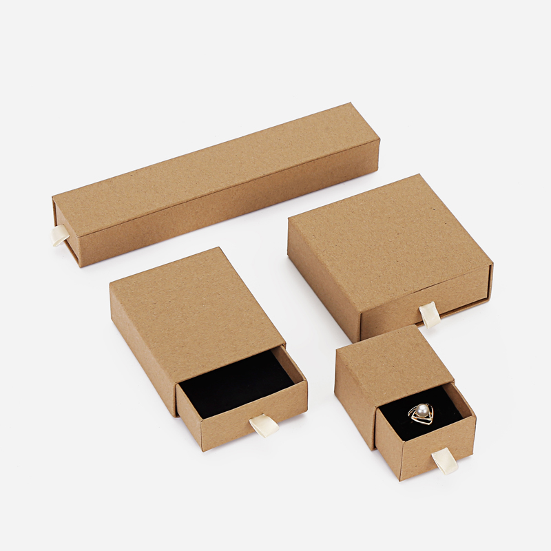 marble cardboard paper ring earring jewelry box packaging gift wedding drawer box