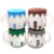ChaoZhou JINYUANLI free sample eco friendly 19oz/550CC coffee cup lids porcelain ceramic coffee mug with silicone lid