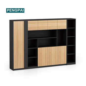 PENGPAI large size office hanging book case bookshelf home office equipment supplier