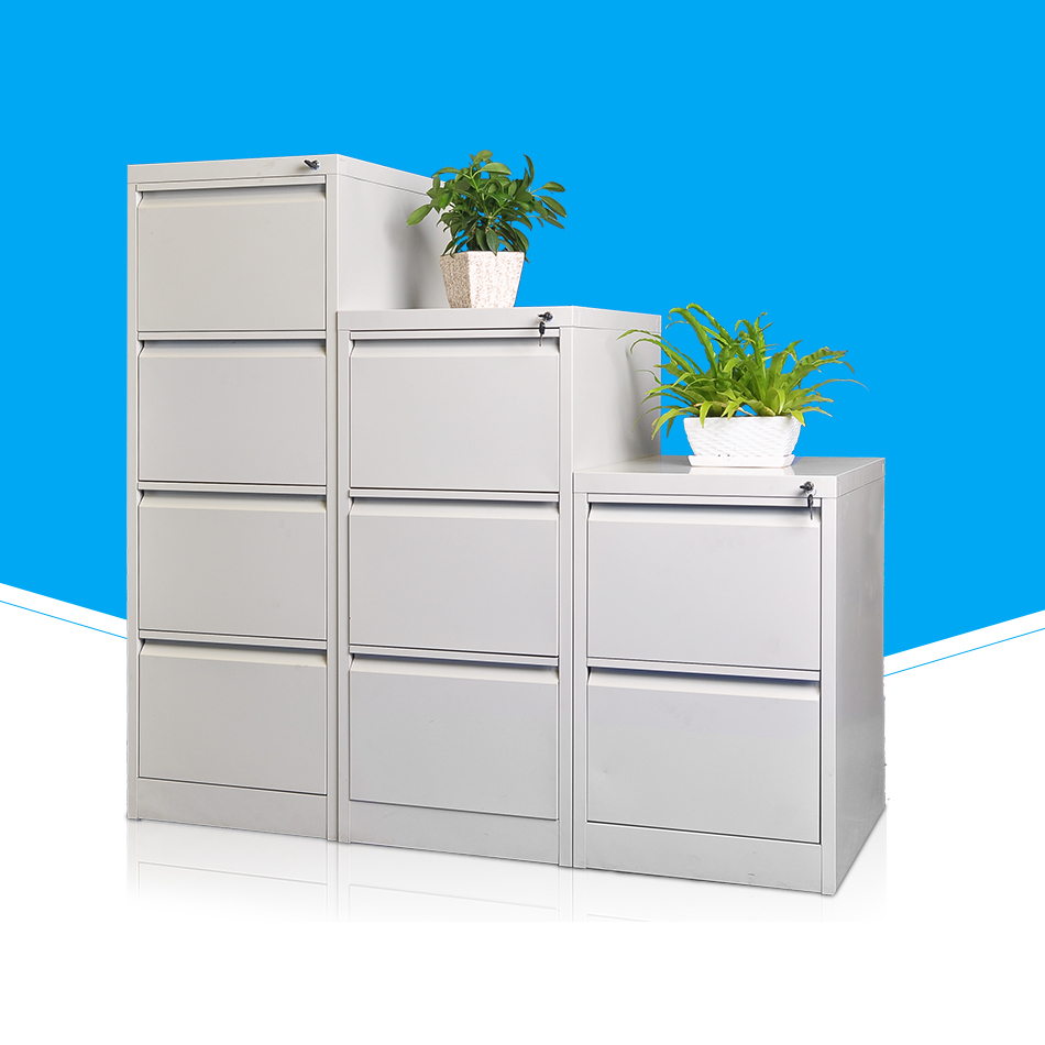 Vertical Office Metal 4 drawer file cabinet
