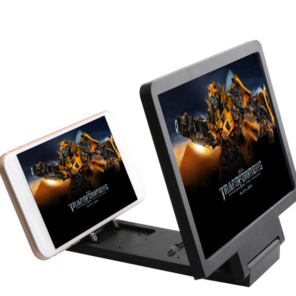 Universal Handy Bildschirm Lupe mit Halterung Vergrößern Folding 3D telefon Bildschirm Display Verstärker Expander
