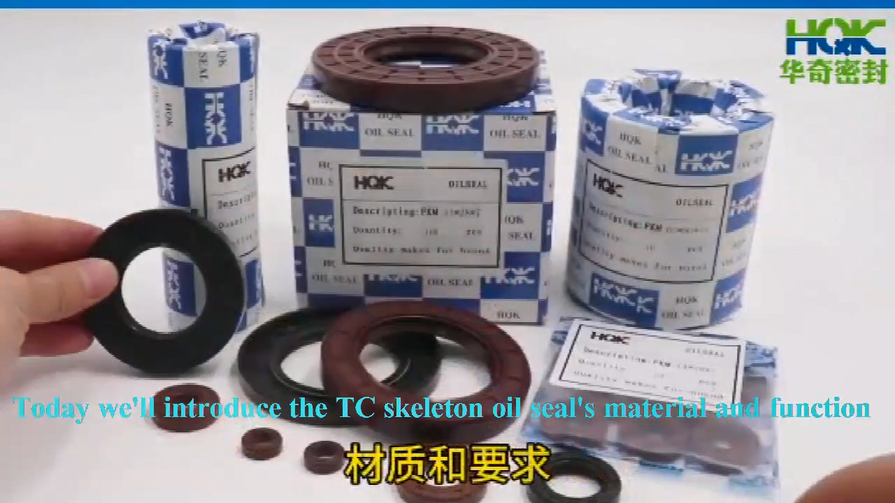 High Quality Motorcycle Shaft oil seal Skeleton Oil Seal NBR FKM Rubber TC Oil Seal