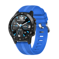 2020 Heart Rate Tracker Smart Watch Android Bluetooth Round Water Proof GPS Sport Smart Phone Watch