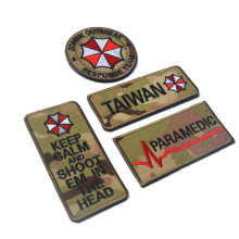 Tentara Custom Made Militer <span class=keywords><strong>Patch</strong></span> Velcroes Moral Penuh Bordir <span class=keywords><strong>Patch</strong></span> untuk Taktis