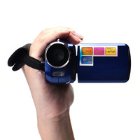 12MP 720P Digital Video Camera HD with 4 x Digital Zoom, 1.8 LCD Screen Mini DV Digital Camcorder
