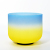 SUCCESS Quartz Crystal Singing Bowl Blue Yellow Sakura color Frosted Singing Bowl Supplier