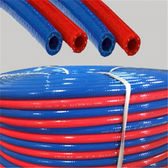 Rubber Mix PVC Oxygen/Acetylene Hose Twin Welding Hose