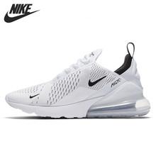 Nike Air Max 270 (gs) оригинальная детская обувь Новое поступление дышащая беговая Обувь Удобные спортивные кроссовки #943345(Китай)