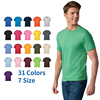 2020 high quality Cotton OEM print short sleeve custom logo blank plain t shirt